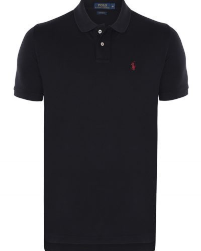 Polo Ralph Lauren \u2013 Black Small Red Pony Custom Fit mech Polo